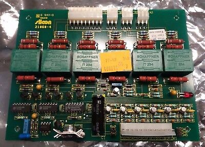 Silcon Industrial UPS interface card 21060-4 (400011) PCB