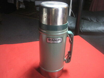 Stanley Aladdin Thermos Wide Mouth 24oz Steel Vacuum  NICE!