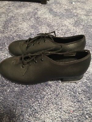 Bloch Techno Tap Dance Shoes #1H Women's Size 5 - Lace Up Oxford Style