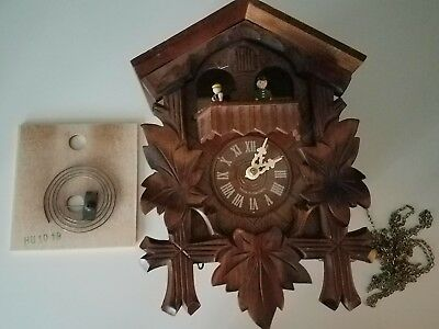 German Made Cuckoo Clock with Romance  Swiss Made By Reuge PROJECT