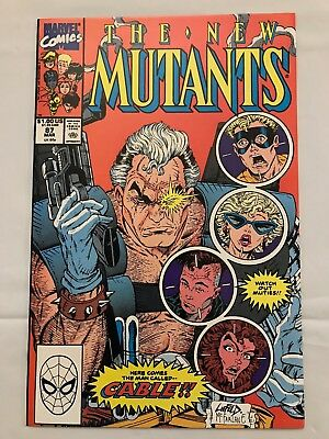 The New Mutants #87 - 1st Appearance of Cable, Deadpool 2 movie