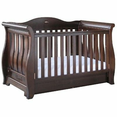 Boori Royale Sleigh Cot 3 in 1