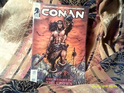 "Conan , "" The Weight Of The Crown"" , One Shot , Vf/nm"