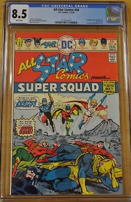 All Star Comics #58 Cgc 8.5 Vf+ Wp 1St Appearance Power Girl Kara Zor-L 1976 Key