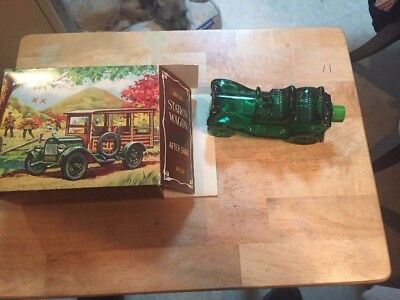 AVON STATION WAGON AFTER SHAVE BOTTLE, Tai Winds