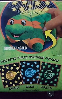 Teenage Mutant Ninja Turtle Mini Pillow Pets Dream Lites Michelangelo