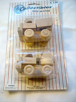 Wooden Collectibles Mini Movers, Originalpackaging