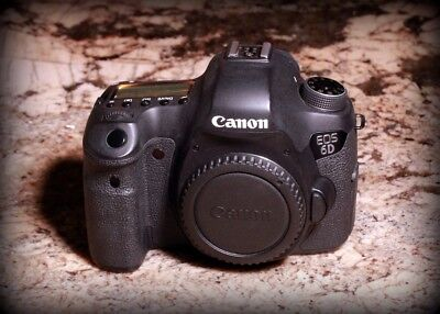 Canon EOS 6D 20.2MP Full-Frame Digital SLR Camera USED - Black (Body Only) (8035