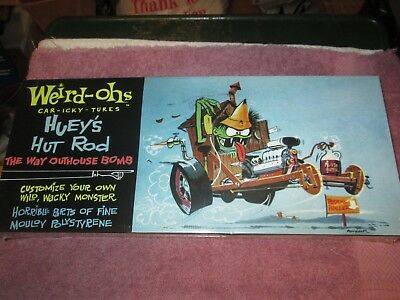 RAT FINK STYLE MODEL KIT,  WEIRD-OHS  huey's hut rod.  last one of this one.