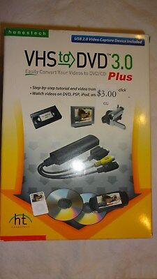 Vhs To Dvd 3.0 Video Transfer Device Computer Mp4 File