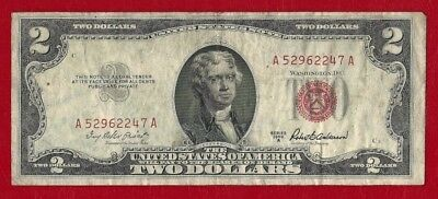 Series 1953A United States 2 Dollar Note