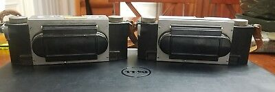 ESTATE LOT OF 2 David White Stereo Realist Camera for Restoration CHARLES PIPER