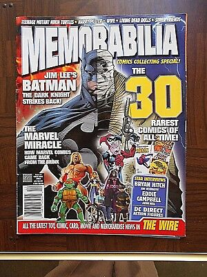 Nov./Dec./ 2002 Memorabilia Comics Collecting Special Mag. VF-