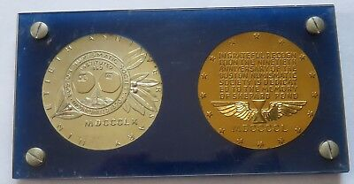 1950 Boston Numismatic Society Convention Medal, Memory of Shepard Pond (191958C