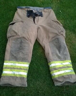 Firefighter Pants Trousers 42L Turnout Bunker - Lion Apparel Janesville PSLM2K