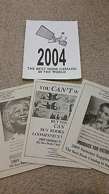 Unusual books catalog Loompanics 2004 Book Catalog and supplements