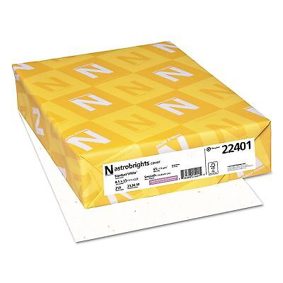 ASTROBRIGHTS 22401 65 Lb CARD STOCK Paper Stardust WHITE Letter Size 250 Sheets