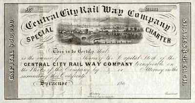 186_ Central City RW Stock Certificate