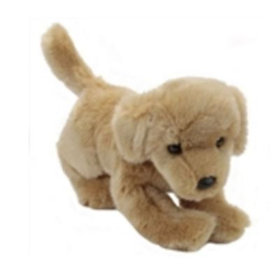 """12"""" Golden Retriever Puppy Plush Stuffed Animal Toy - Ships Today, Arrives in 3!"""