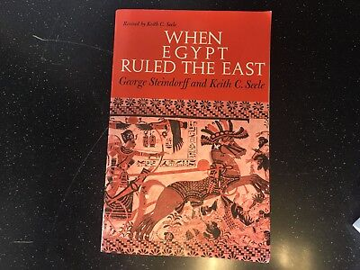When Egypt Ruled the East Phoenix Books Tight Binding VG Used Unmarked