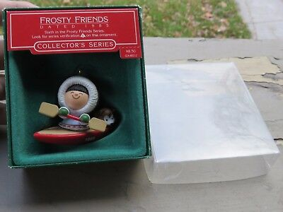 Vintage Frosty Friends 1985 Hallmark Christmas Ornament 6th in a Series