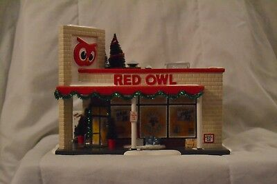 "Dept 56 - Snow Village ""Red Owl Grocery Store"" #5655303"