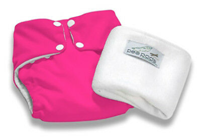 Pea Pods Nappy Onesize - Hot Pink