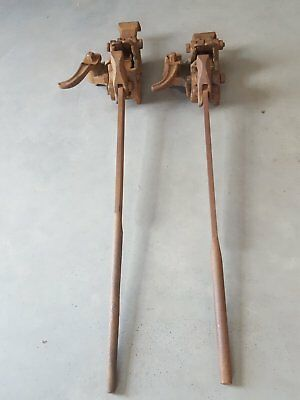 Vintage Antique Pike Pickering floor clamp jack the little boomer