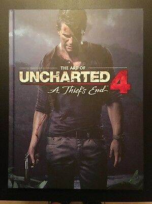 The Art Of Uncharted 4: A Thief's End Dark Horse Hardcover