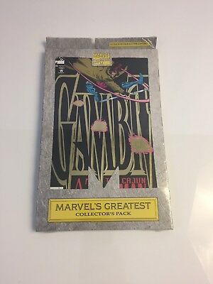 1993 Marvel Greatest Collectors Pack Gambit 1, 2 3 and 4 X-MEN NEW Sealed