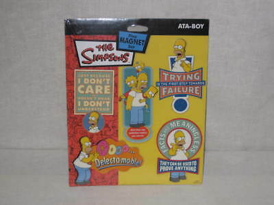 The Simpsons Five Magnet Set by ATA BOY - Homer Simpson