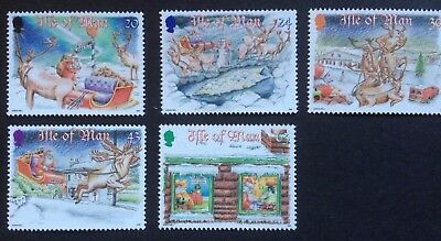 Isle Of Man, Christmas 1998 Commemorative Stamps