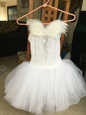 Girl's Swan Lake costume with head piece, Child size large