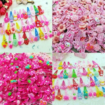 20pcs/Lot Mixed Cartoon Styles Baby Kids Girls HairPin Hair Clips Jewelry Gift