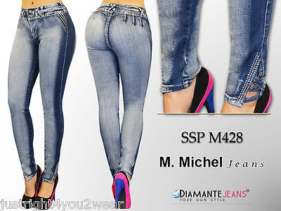Colombian style Levanta Cola Skinny jeans butt lift  push up  M. Michel SSPM428