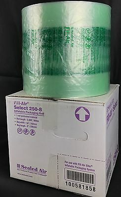"""Sealed Air 250-8 Fill-Air Select 10"""" x 8"""" Inflatable Packaging Roll 2900' Bubble"""