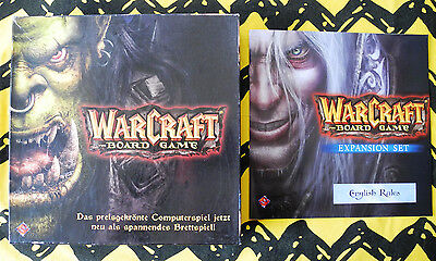 WORLD OF WARCRAFT BOARD GAME (D) inkl. WOW Erweiterung / EXPANSION-SET (E)