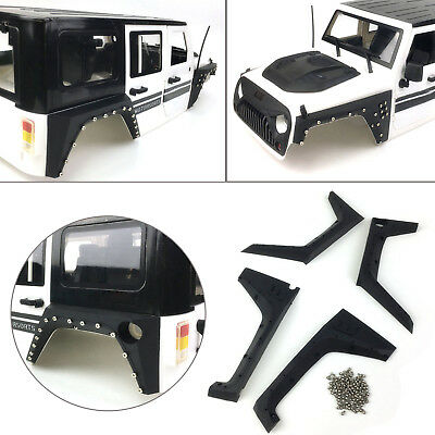 Xtra Speed ARMOR Fender Flare Full Set for Jeep Body 4WD 1:10 RC Crawler Cars