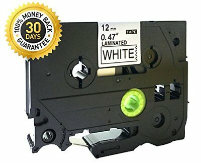 Black on White Label Tape Compatible for Brother TZ 231 TZe 231 12mm P-Touch 8m
