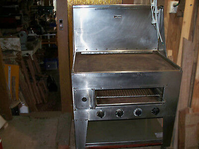 gas hot plate / grill