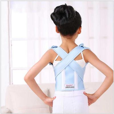 New Posture Corrector Brace Shoulder Back Support Pain Relief Belt for Child
