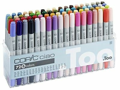 Copic Ciao Pens 72 Set B - Arts + Craft Markers - Fast Shipping