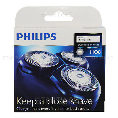3 pcs Shaver Razor Blades Shaving Heads Replacement for Philips HQ8 US SELLER