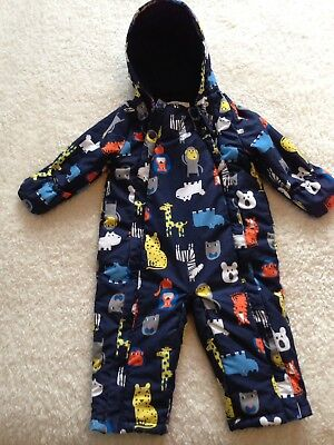 Marks And Spencer's Babies Snow Suit 12-18