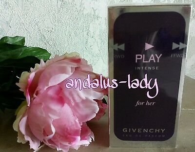 GIVENCHY * PLAY INTENSE for her * 50ml E.d.Parfum OVP