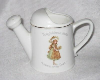 Holly Hobbie Porcelain Watering Can Ornamen Vase - Thoughtfulness Starts