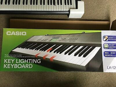 Casio Key Lighting LK 120 Keyboard & Stand