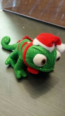 Disney Store Pascal Tangled Soft Toy Plush Christmas UK Exclusive