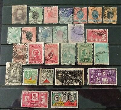 Brazil. Small collection of old stamps