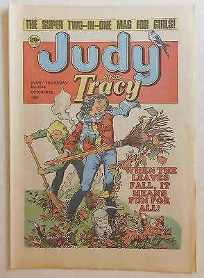 JUDY & TRACY Comic #1346 - 26th October 1985